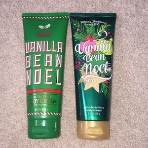 bath and body work Other - Bath and Body Works Vanilla Bean Noel Body Lotion